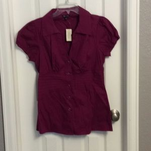 ⭐️NWT pink blouse